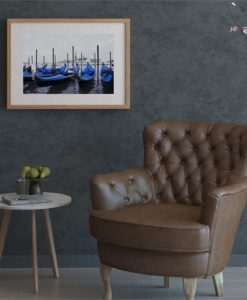 The Gondola Print | Canvas and Framed Print
