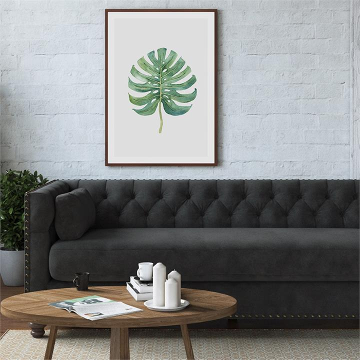 The Monstera Print CLOUD | Canvas and Framed Print