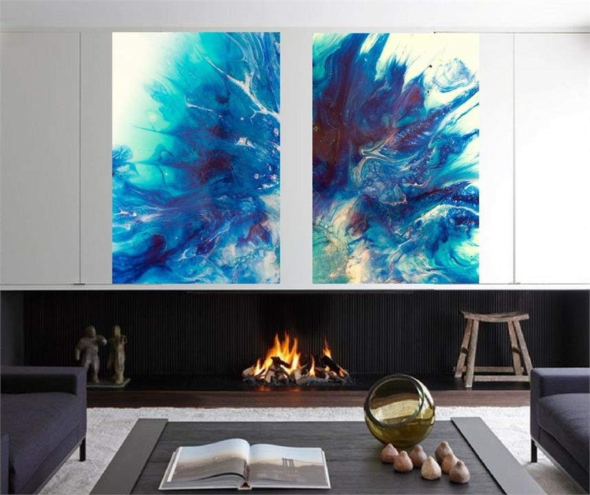 Dreaming 3 Bronte | Set of 2 artworks | Marie Antuanelle