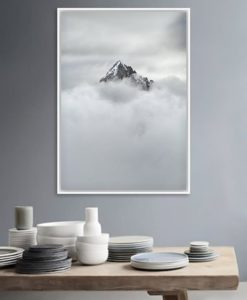The Peak Canvas Print | Framed