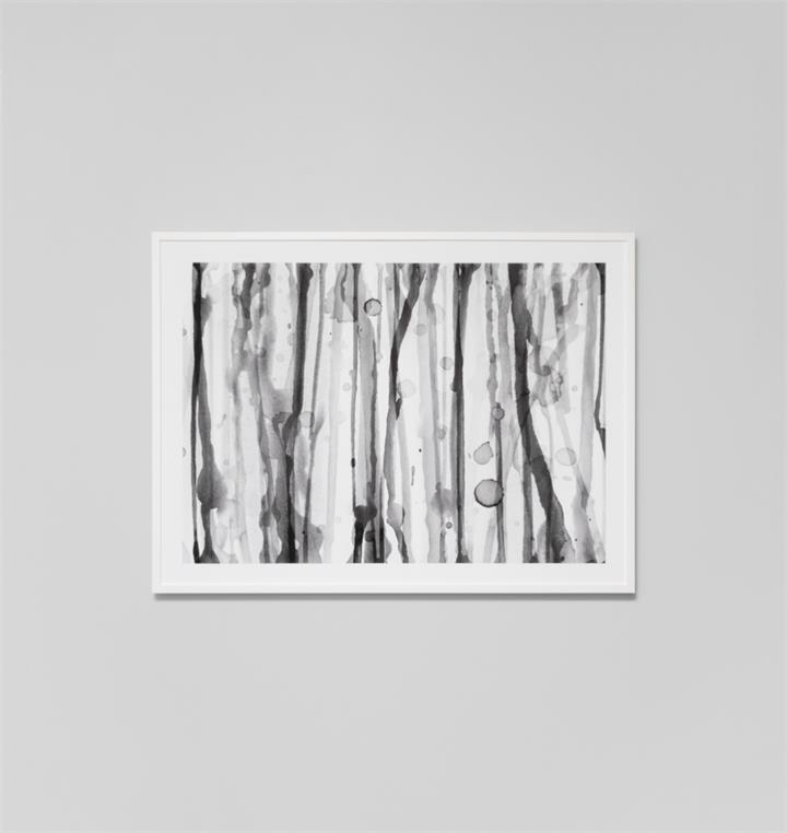 Waterfall Grey | Framed Photographic Print