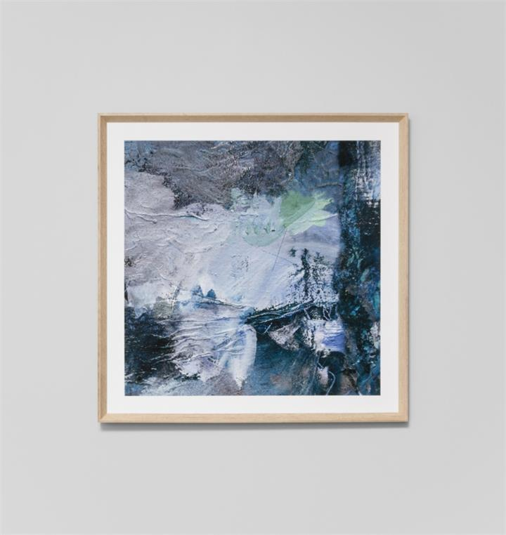 Besa Blue 2 | Framed Print