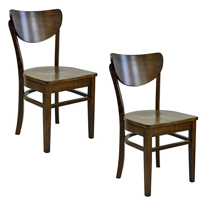 Austin Wooden Dining Chair (Set of 2)