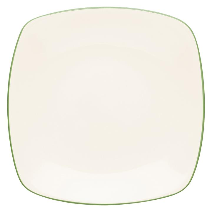 Colorwave Speckle Square Dinner Plate