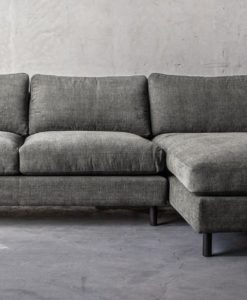Ponte 3.5 Seater with Chaise  (Right) - Weathered Grey