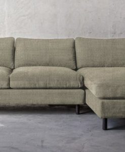 Ponte 3.5 Seater with Chaise  (Right) - Florentine Blue