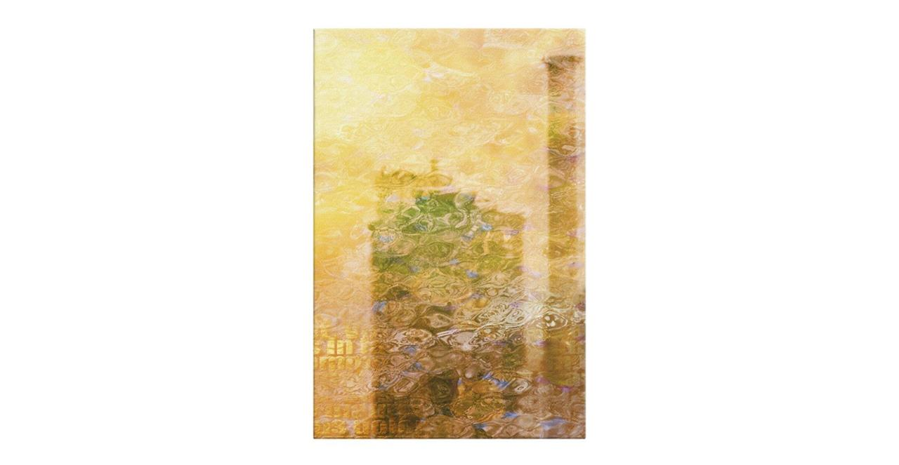 The City Sun Print Canvas Small Afternoon