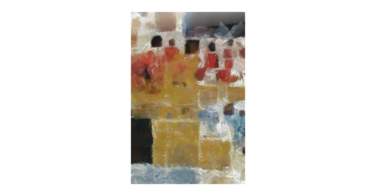The Mosaic Print Metal Print Small Two