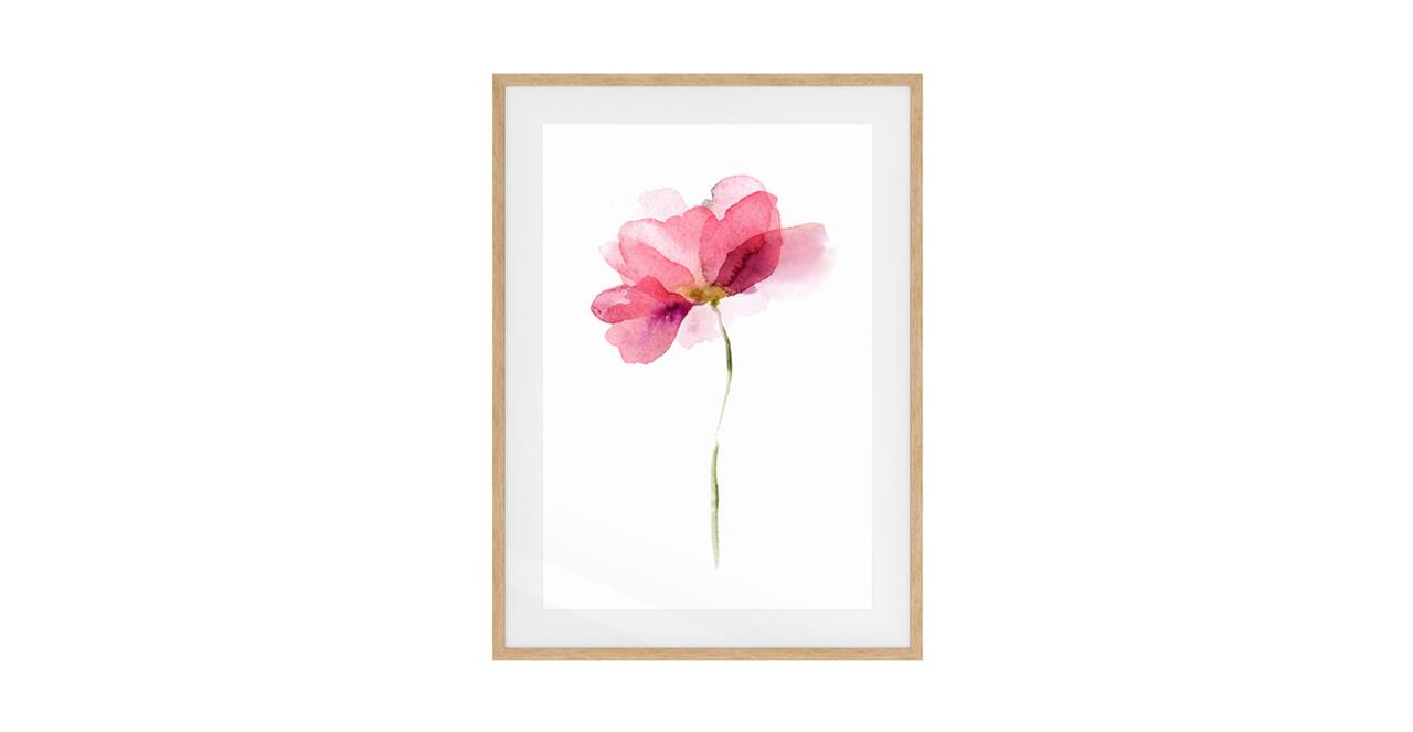 The Papier Print Natural Wood Frame Small