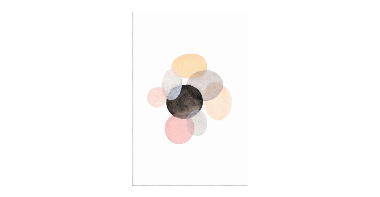 The Pebbles Print Canvas Small