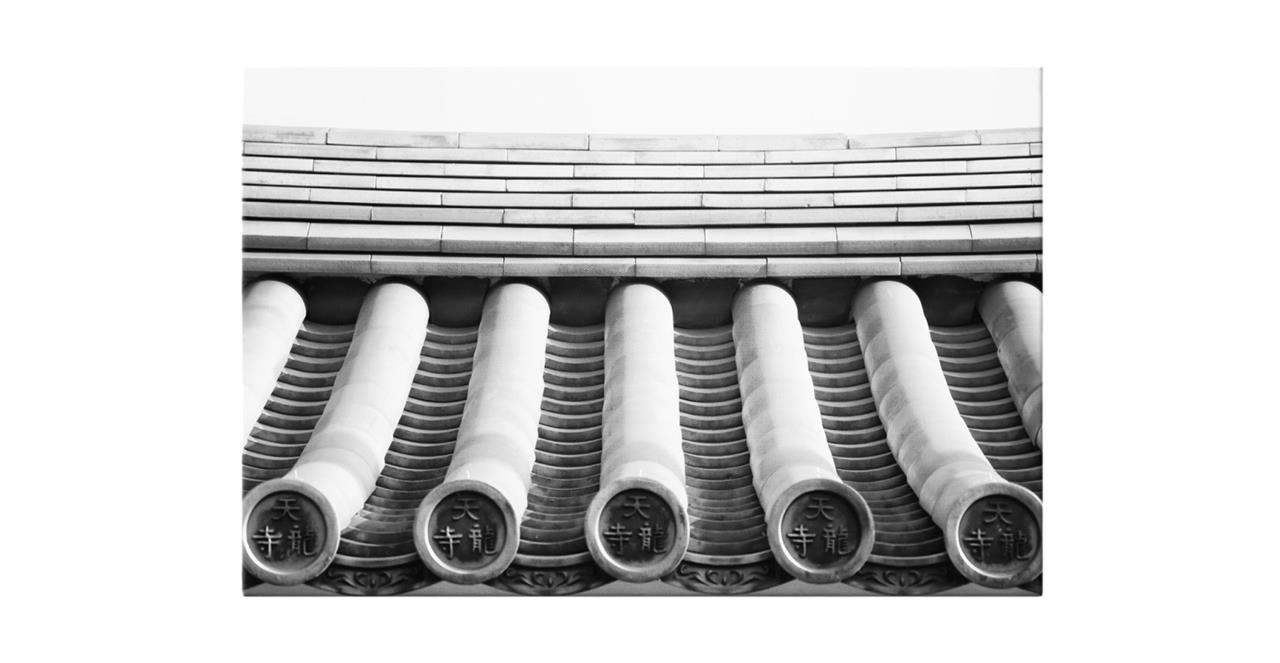 The Roof Print Canvas Large