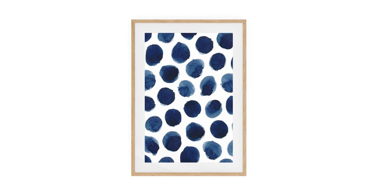 The Wabi Sabi Print Natural Wood Frame Medium Impermanent