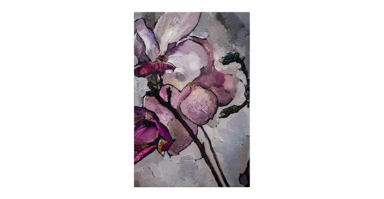 The Magnolia Print Canvas Large