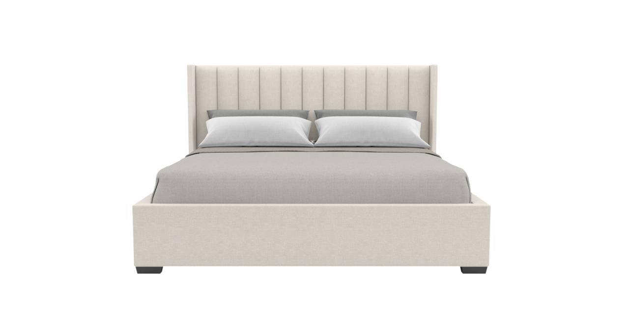 Isabella Gas Lift King Size Bed Frame Classic Cream Classic Cream