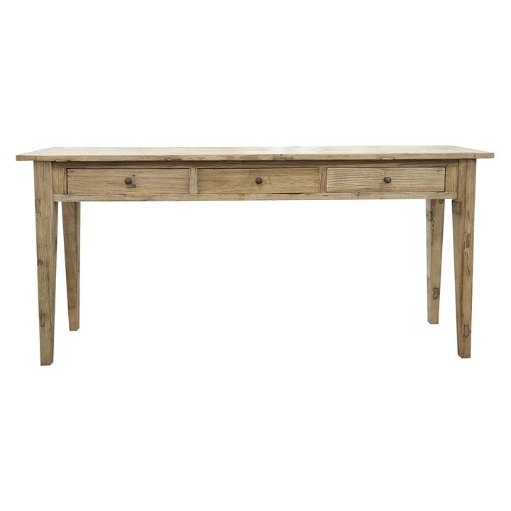 Elm 3 Drawer Console Table