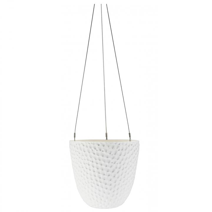 Decorative Hanging Planter | Embossed | One Size