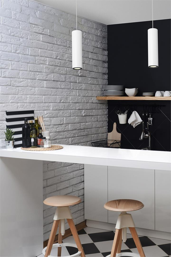 Kitchen Pendant Light | Matt White