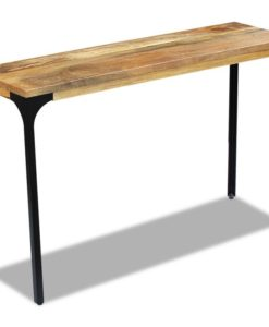 vidaXL Console Table Mango Wood 120x35x76 cm