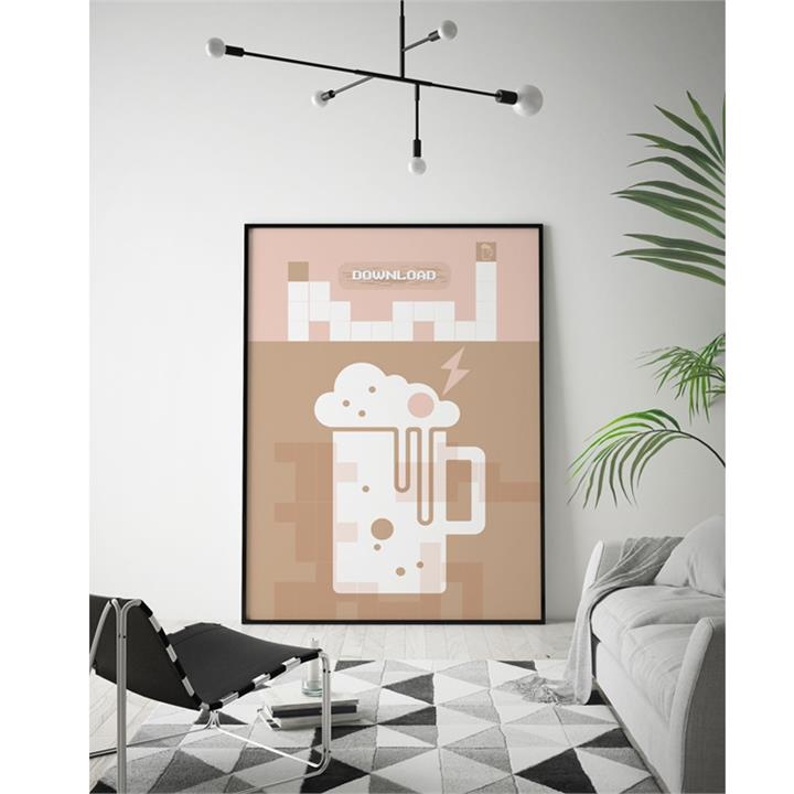 Download Beer | Limited Edition Unframed Print | Arti Shah