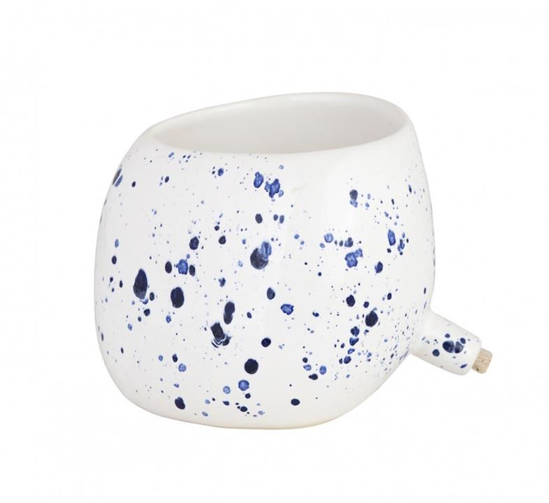 Spouted Plant Pot | Crystal Speckle