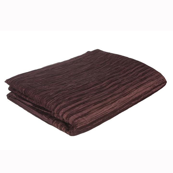 Pleated Satin Coverlet
