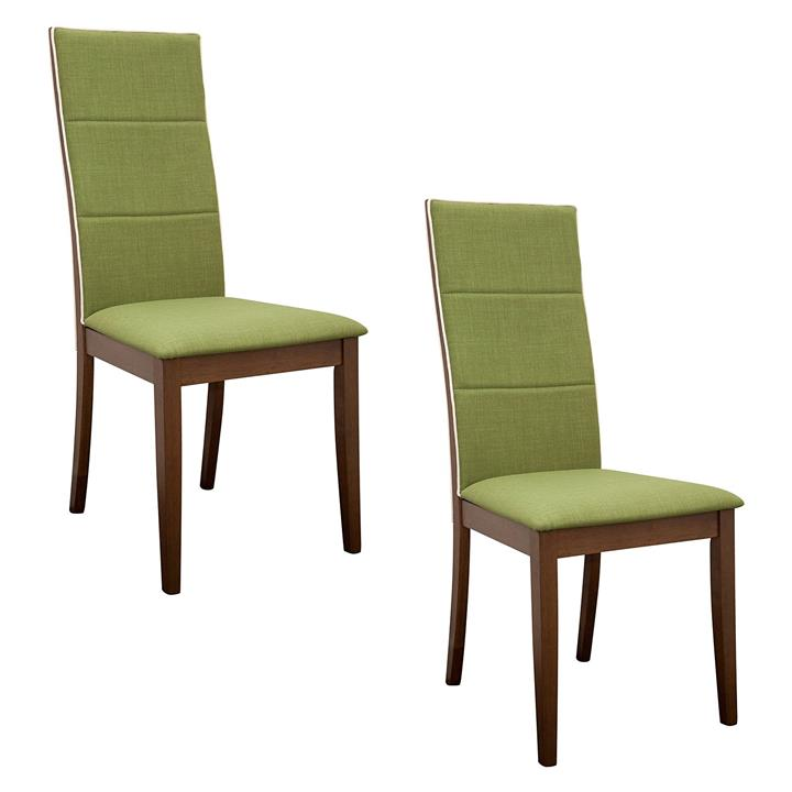 Society Walnut Dining Chair (Set of 2)