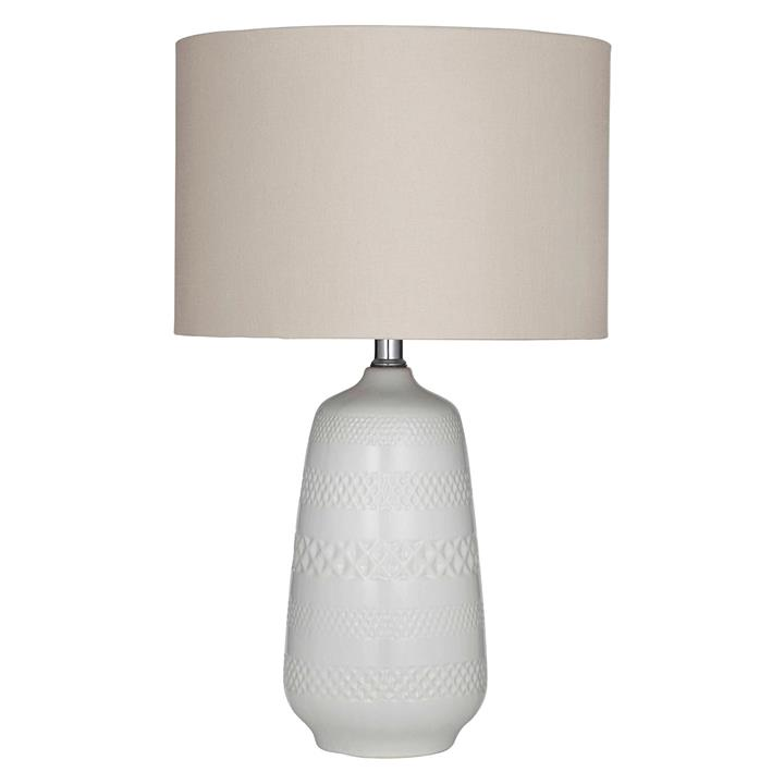 Poppy Taupe Table Lamp