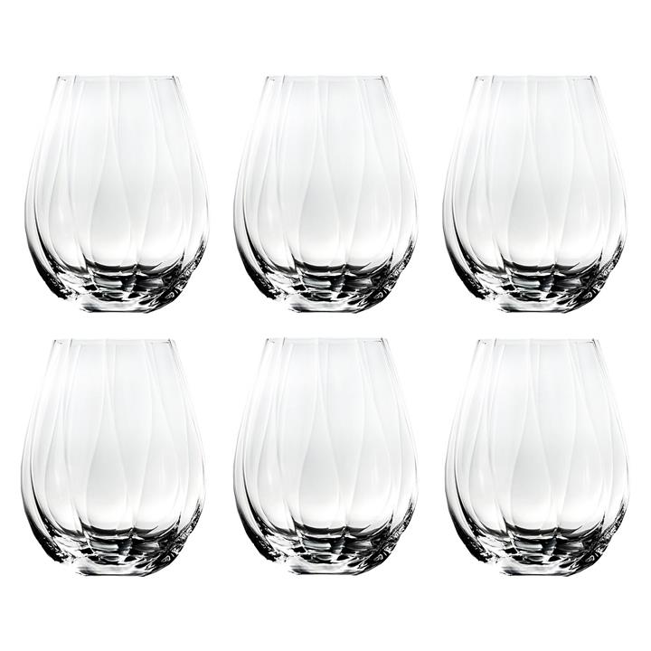 Bianca Optic Stemless Bordeaux White Wine Glass