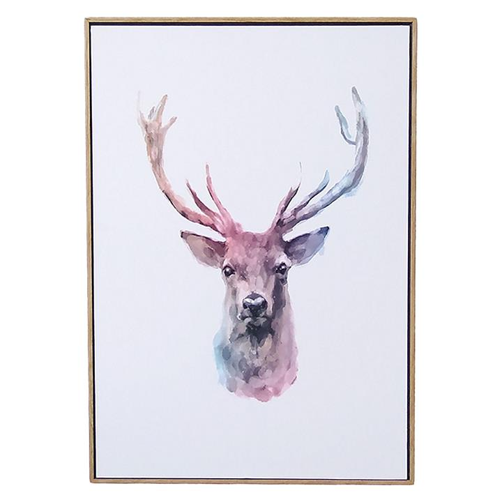 Deer Watercolour Art Print