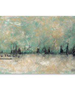 To the City Print Art