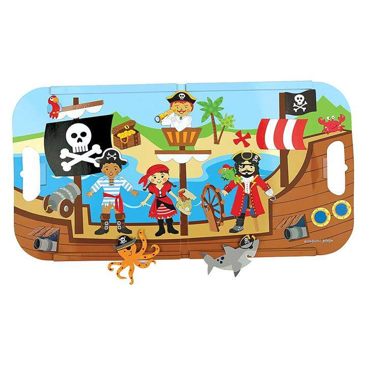 Pirate Magnetic Play Set