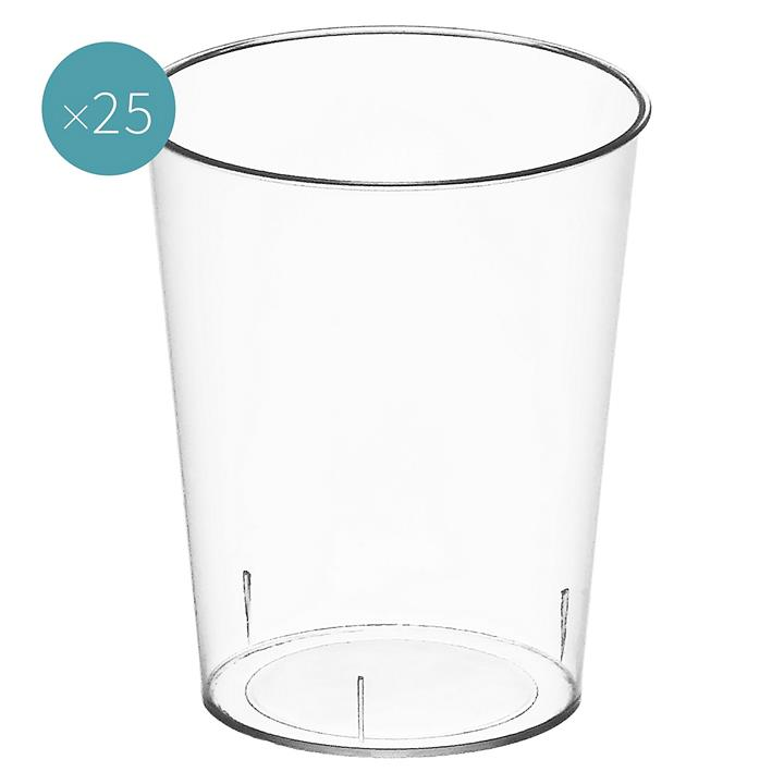 Punto Plastic Liqueur Bowl (Set of 25)