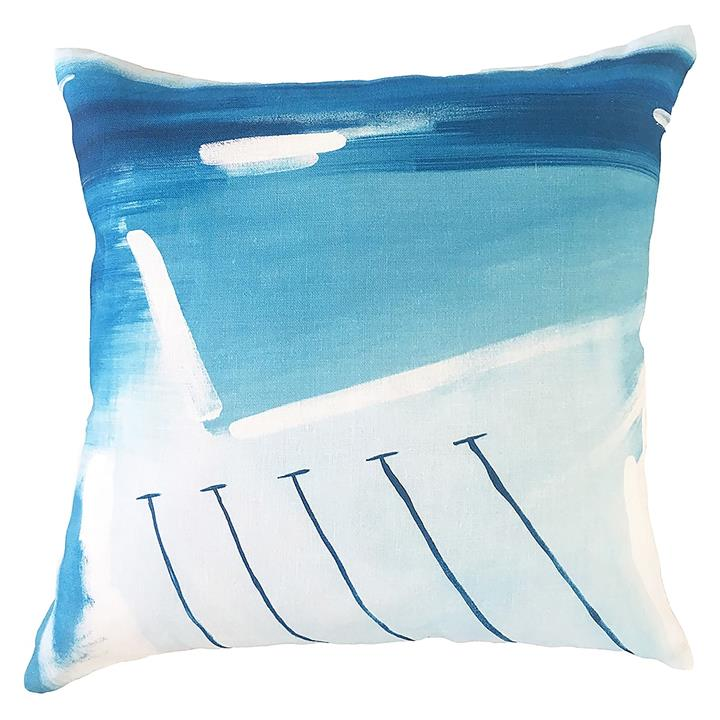 Icebergs Indoor/Outdoor Cushion Cover