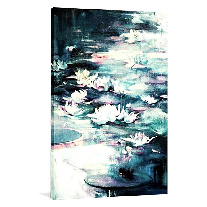 Lost in Water Painted Canvas Wall Art