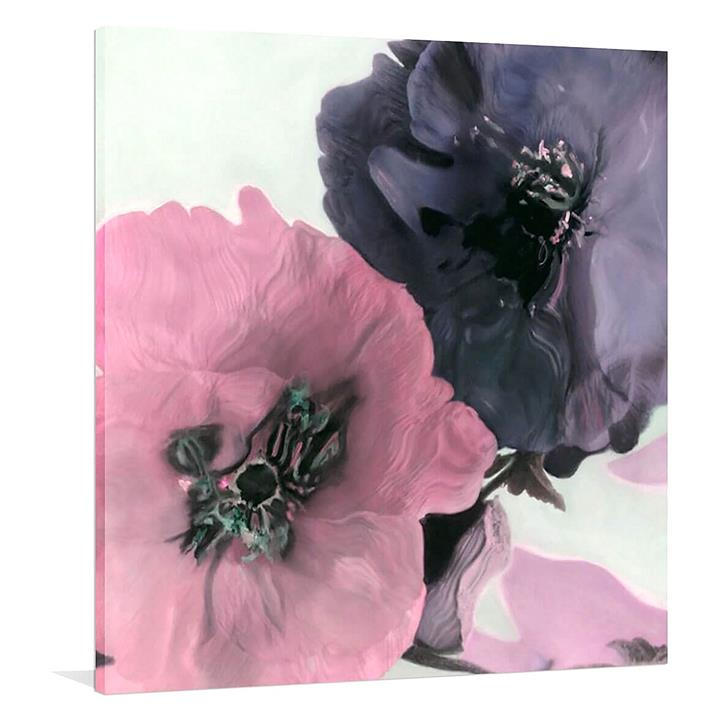 Full Bloom Painted Canvas Wall Art