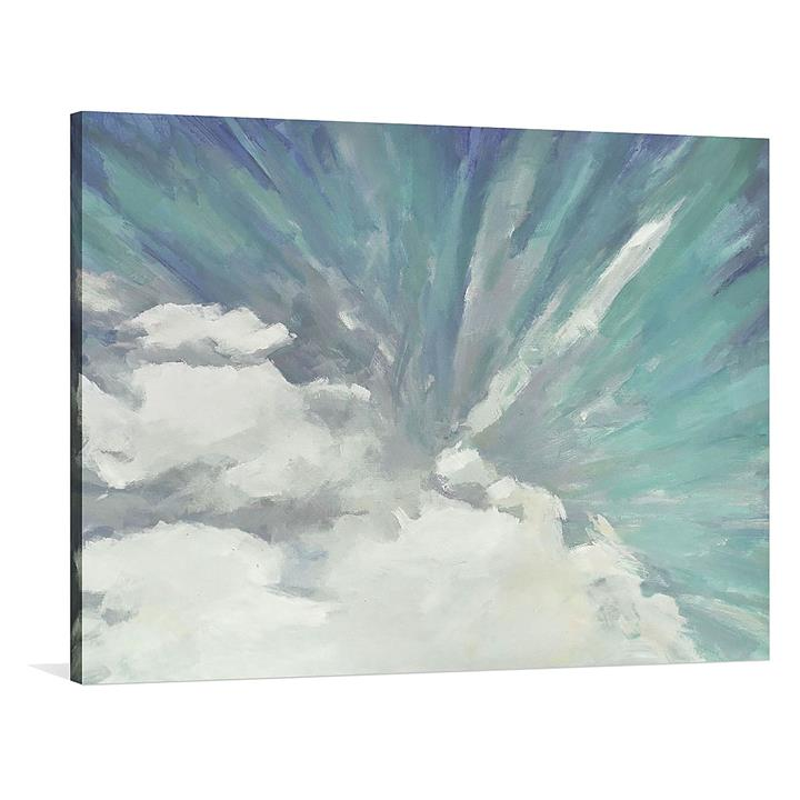 Enters The Dawn Painted Canvas Wall Art