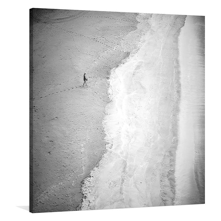 One Square Canvas Print