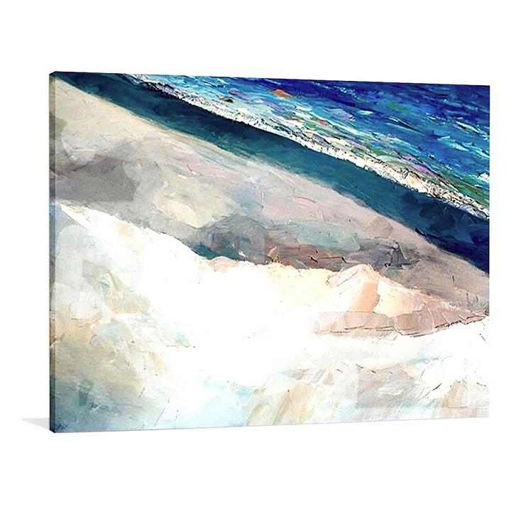 Costa Smeralda Painted Canvas Wall Art