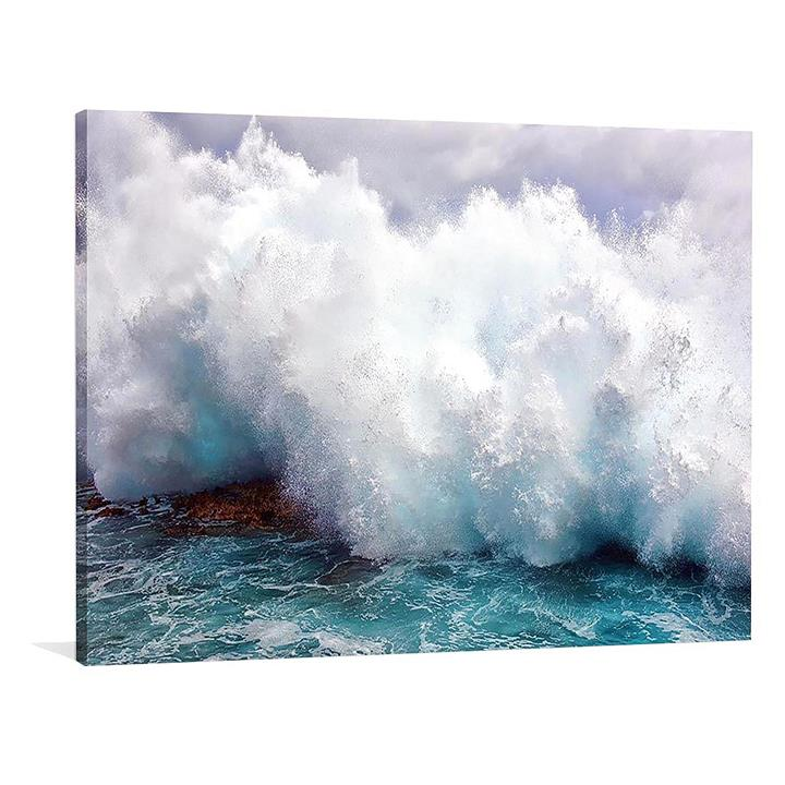 Tidal Force Canvas Print