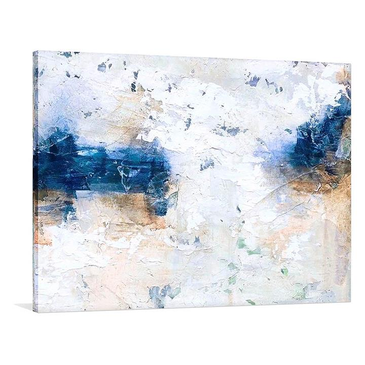 A Frosted Mile Painted Canvas Wall Art