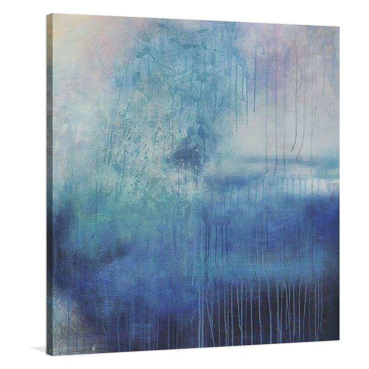 Reminiscent Square Canvas Print