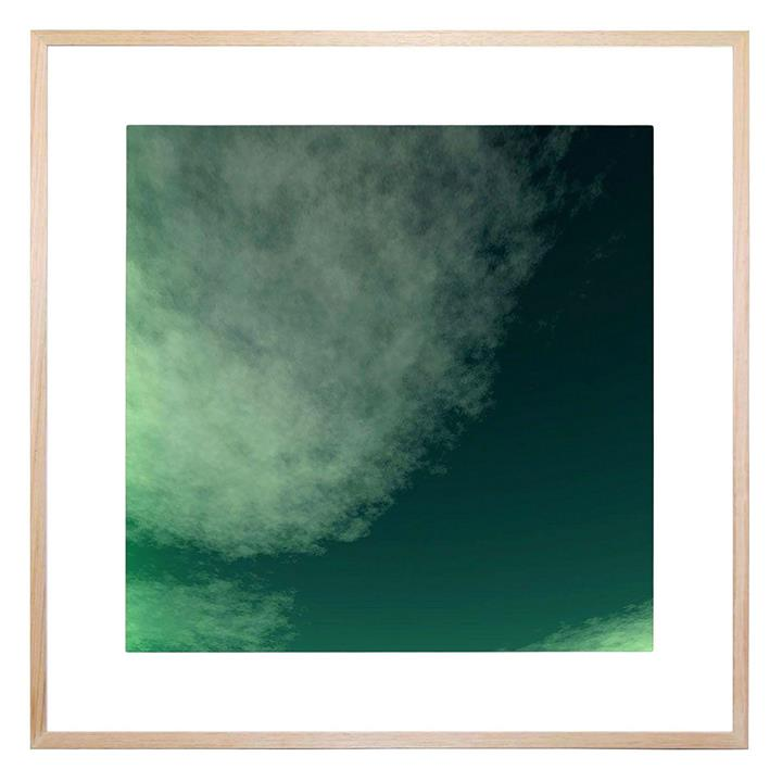 Emerald Square Framed Print