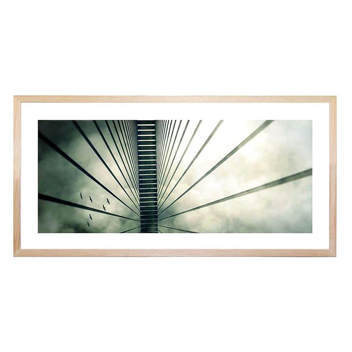 Way Sky Framed Print