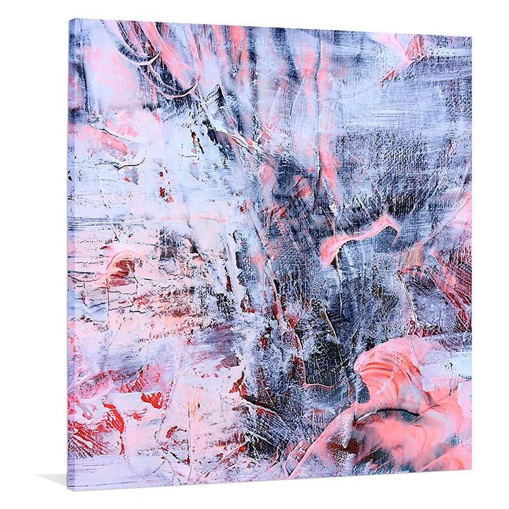 Brocade 2 Square Canvas Print