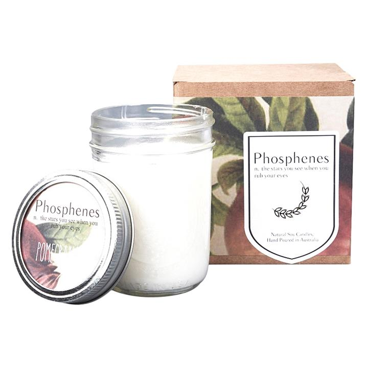 Soy Wax Candle in Mason Jar
