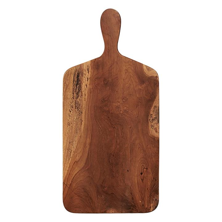 Recycled Teak Paddle Chopping Board