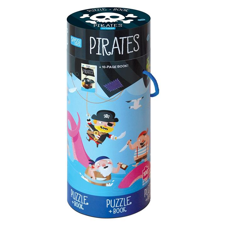 Pirates Book and Puzzle