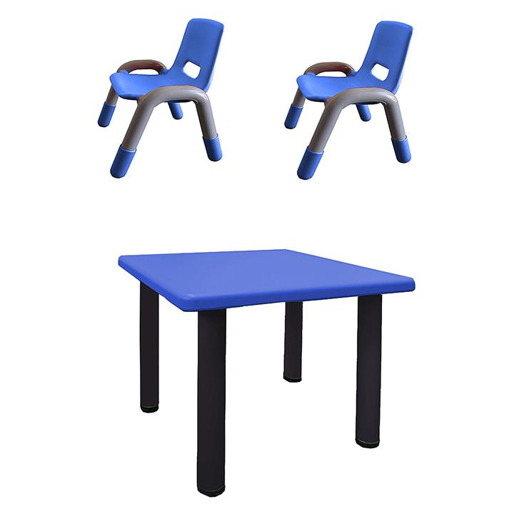 Heavy Duty Toddler 3-Piece Table and Chair Set