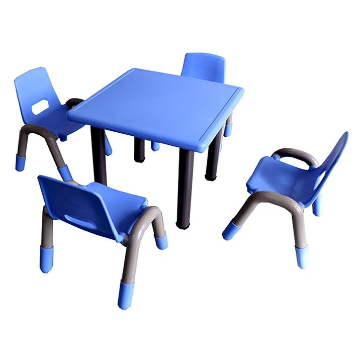 Heavy Duty Toddler 5-Piece Table and Chair Set