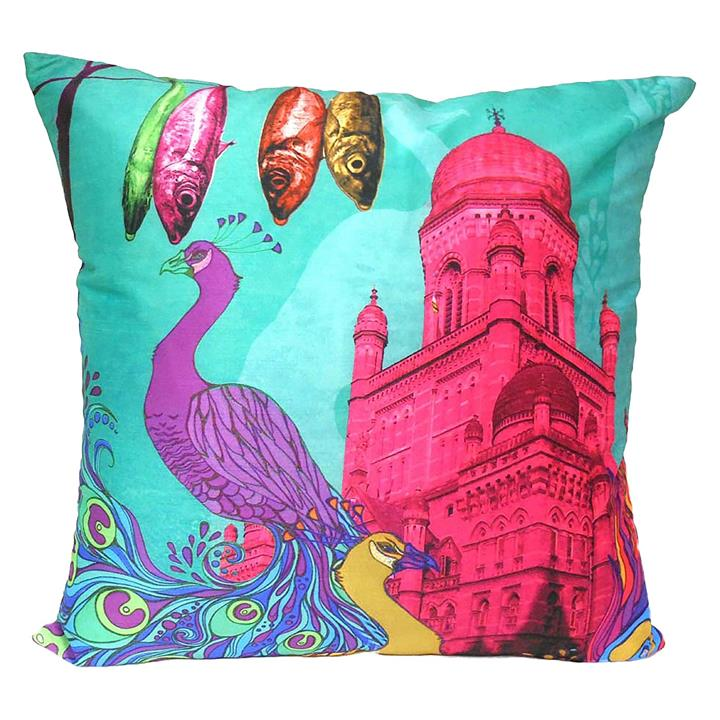 Pink Palace Cushion Cover